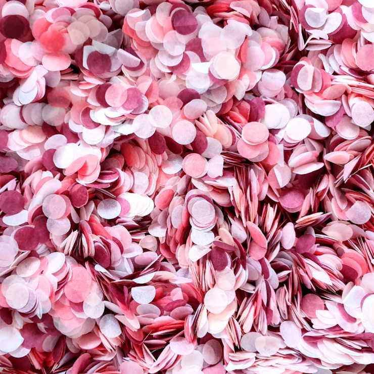 Add a Handful of Romantic Confetti to Your Card!